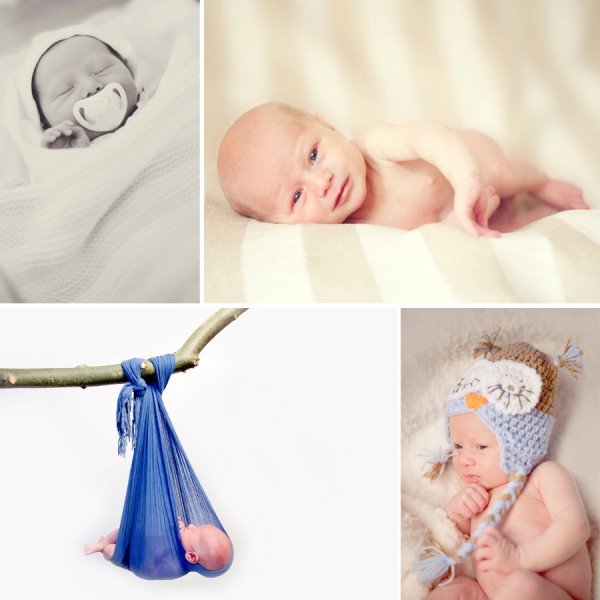 Jensen - Newborn Portrait Session