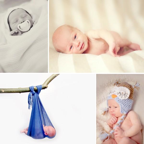 Jensen - Newborn Portrait Session