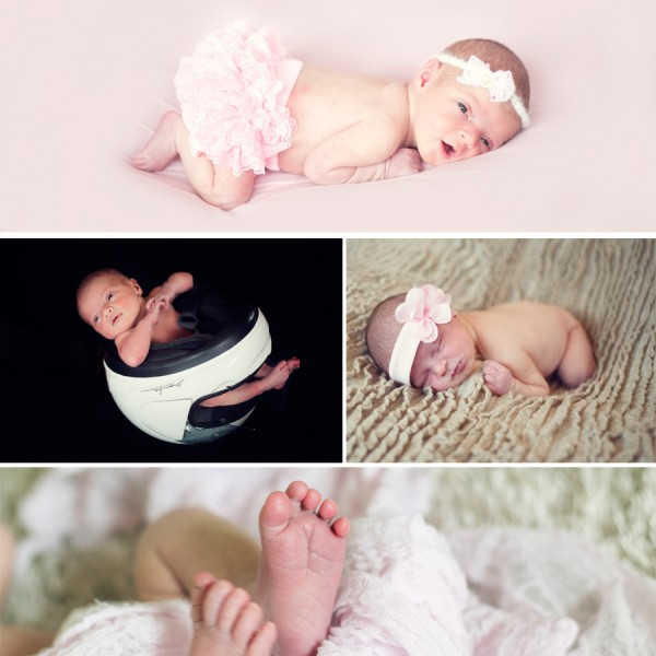 Ava May - Newborn Shoot