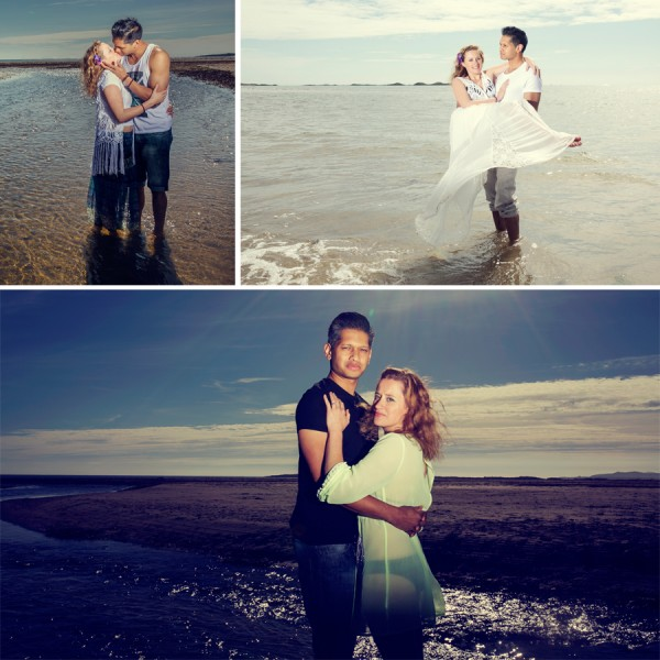 Rhosneigr Anglesey Engagement Photography Sara and Dan