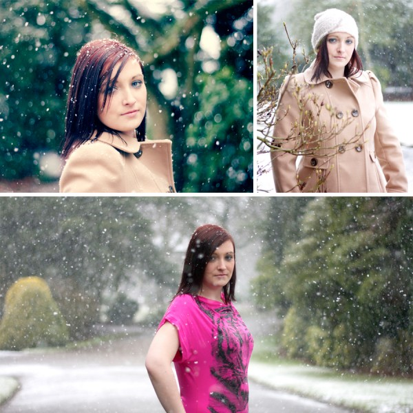 Sarah's Snow Shoot