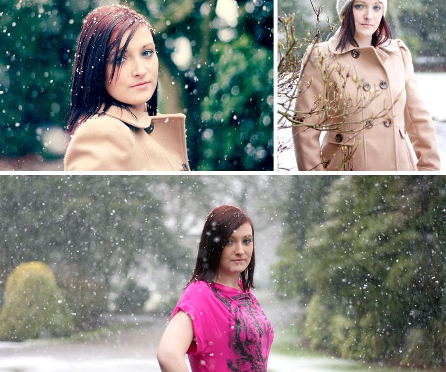 Sarah's Snow Shoot