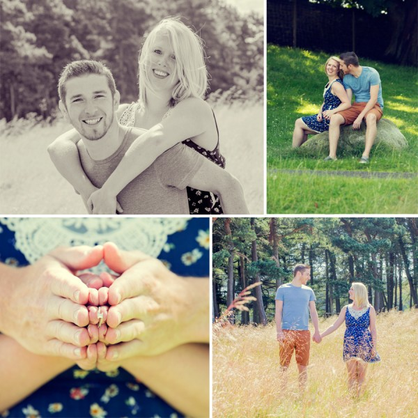 Fran & Rick - Lyme Park Engagement Shoot