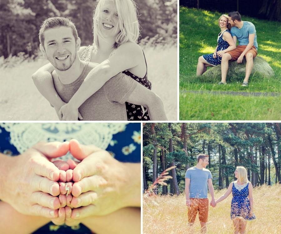 Fran & Rick - Lyme Park Engagement Shoot