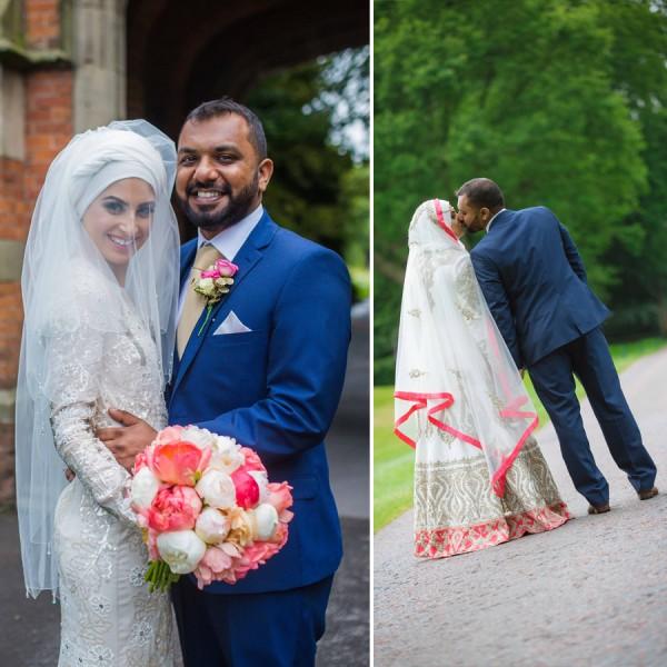 Nuha & Jig Wedding, The Mere Golf Resort And Spa, Cheshire Wedding Photographer