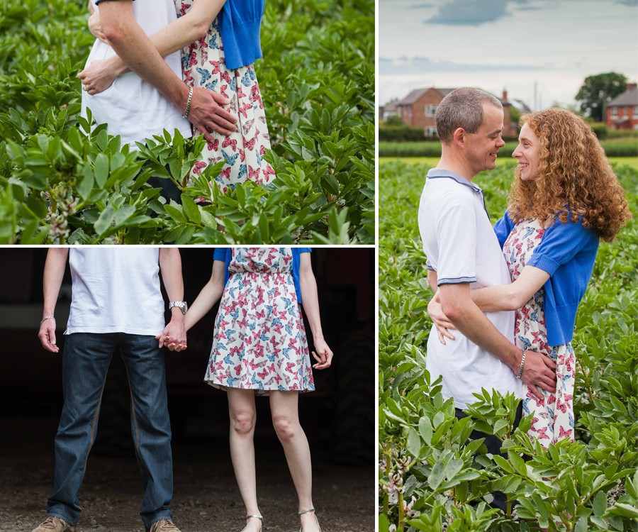 Vicky & Phil Engagement Shoot Warrington Farm Photography
