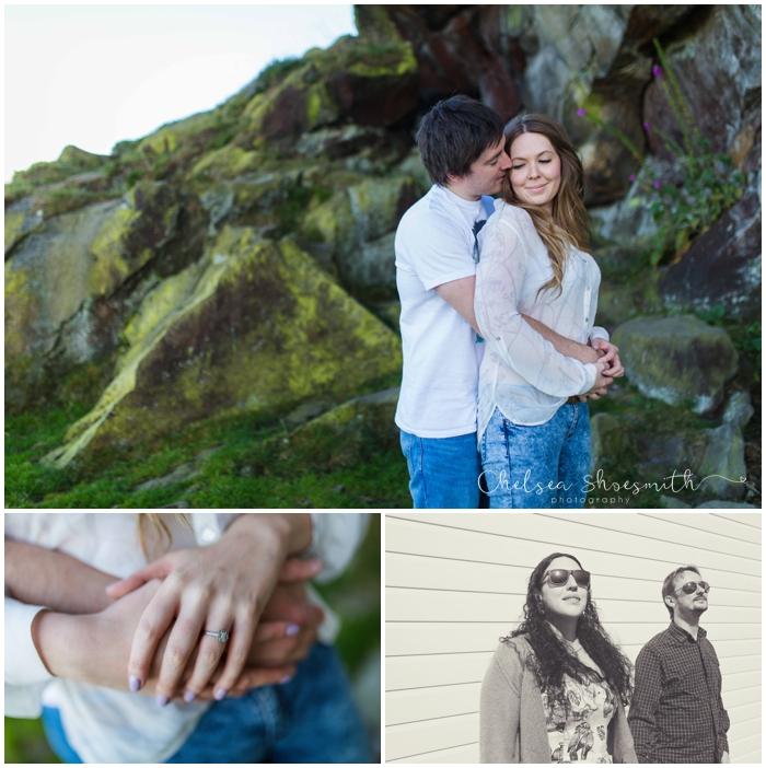 (50 of 56) Holly & Matt Engagement Photo Shoot Almscliffe Crag