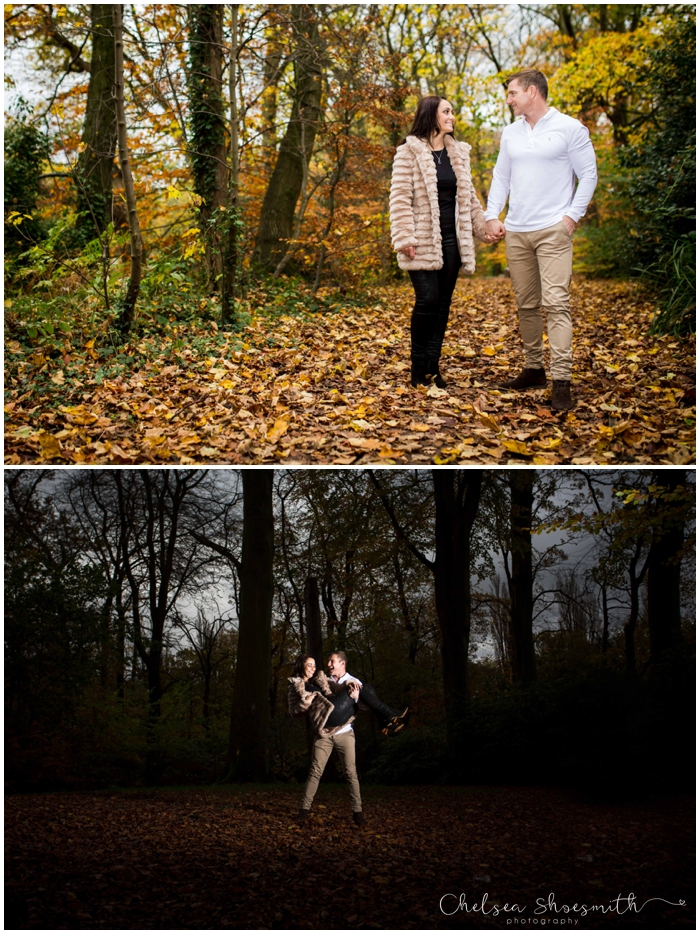 (51 of 65) Carly & Walter Cheshire Engagement Lymm Dam Chelsea Shoesmith Photography
