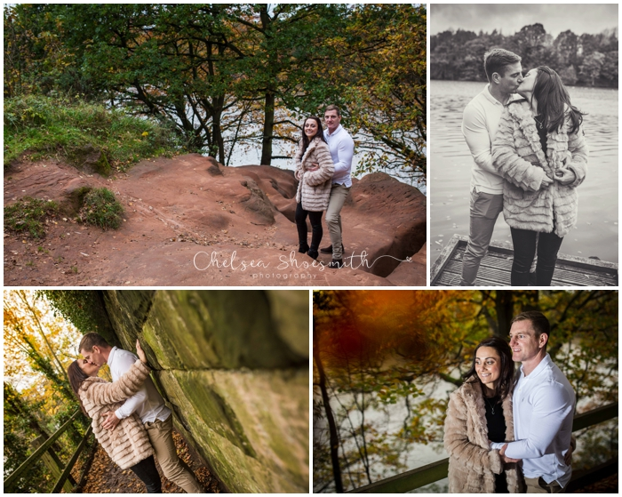(9 of 65) Carly & Walter Cheshire Engagement Lymm Dam Chelsea Shoesmith Photography