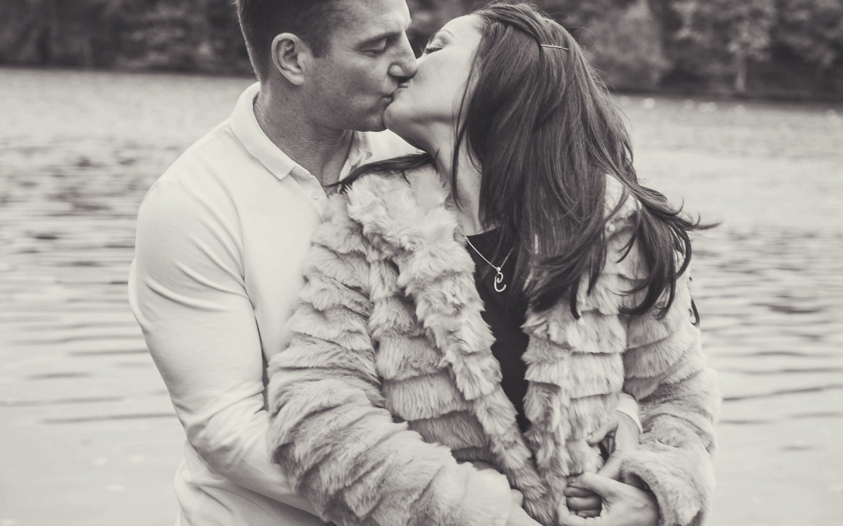 Carly & Walter - Lymm Dam Engagement Shoot