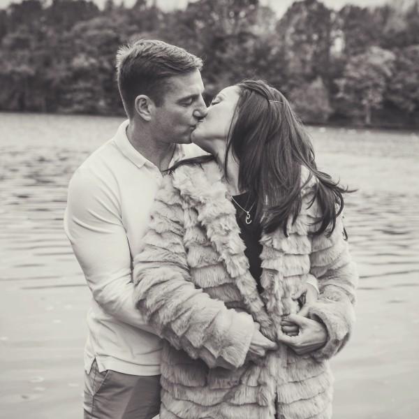 Carly & Walter - Lymm Dam Engagement Shoot