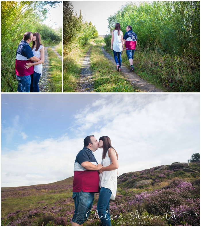(2 of 50) Anna & Graham Engagement Shoot The Roaches Chelsea Shoesmith Photography