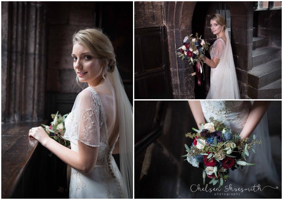 (45 of 158) Chethams Library Wedding Styled Shoot Chelea Shoesmith Photography_