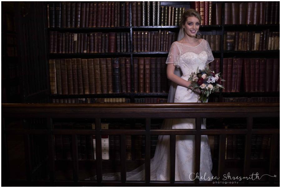 (63 of 158) Chethams Library Wedding Styled Shoot Chelea Shoesmith Photography_