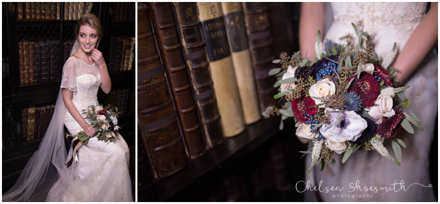 (81 of 158) Chethams Library Wedding Styled Shoot Chelea Shoesmith Photography_