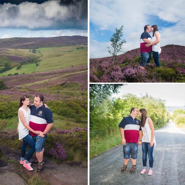 Anna & Graham Engagement Shoot - The Roaches