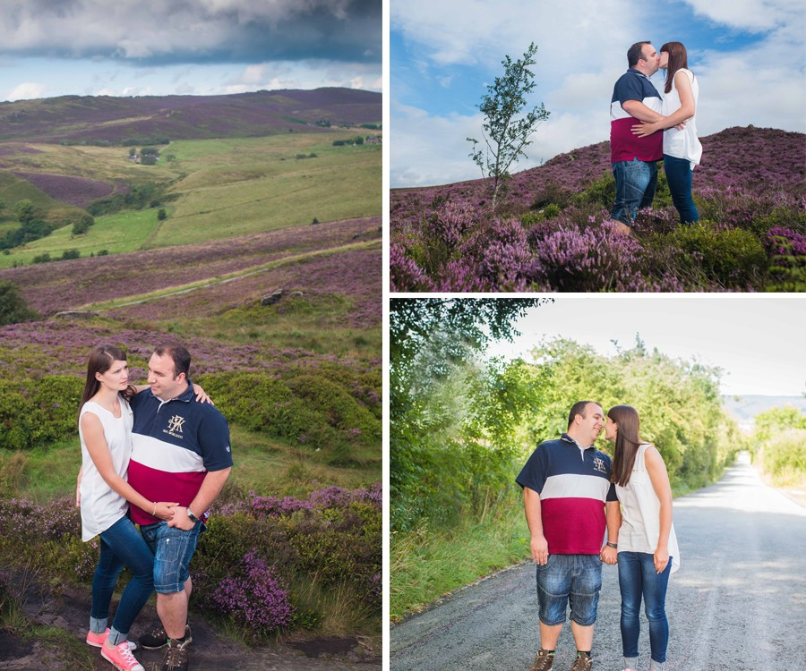 Anna & Graham Engagement Shoot - The Roaches