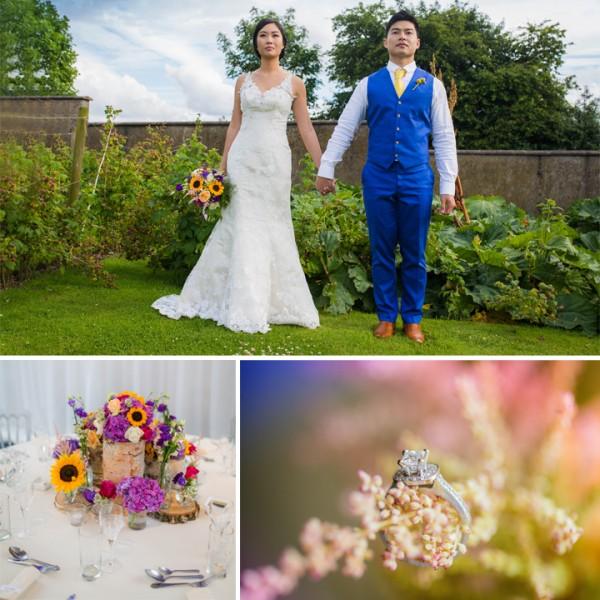 Suki & Patrick - Vibrant Wedding At Heaton House Farm