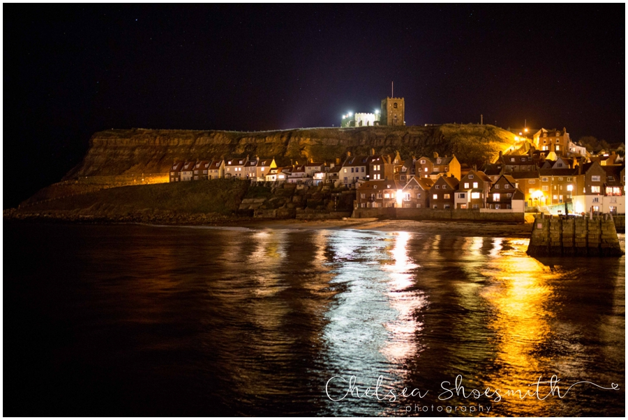 (18 of 28) Whitby By Night Starry Travel Photographer Yorkshire Chelsea Shoesmith Photography