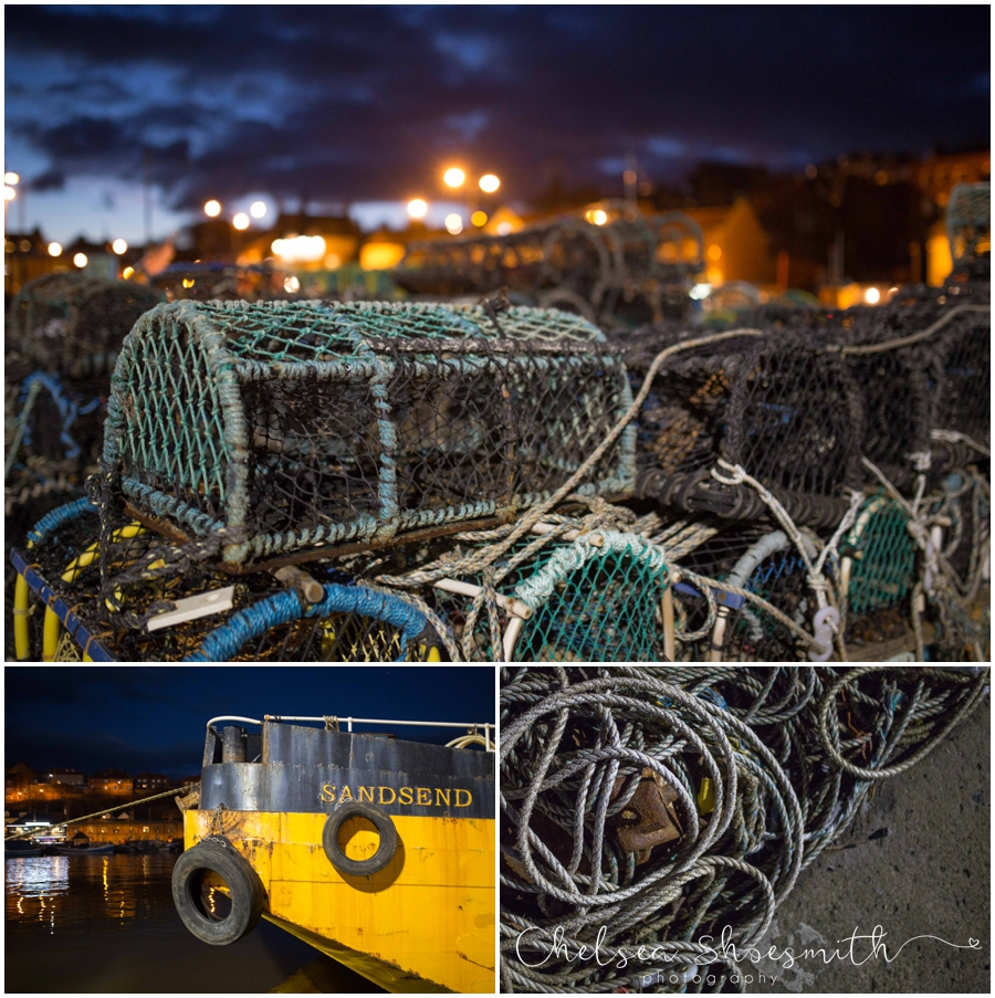 (2 of 28) Whitby By Night Starry Travel Photographer Yorkshire Chelsea Shoesmith Photography