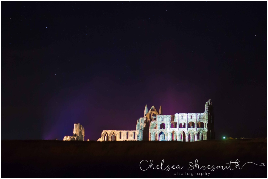 (28 of 28) Whitby By Night Starry Travel Photographer Yorkshire Chelsea Shoesmith Photography