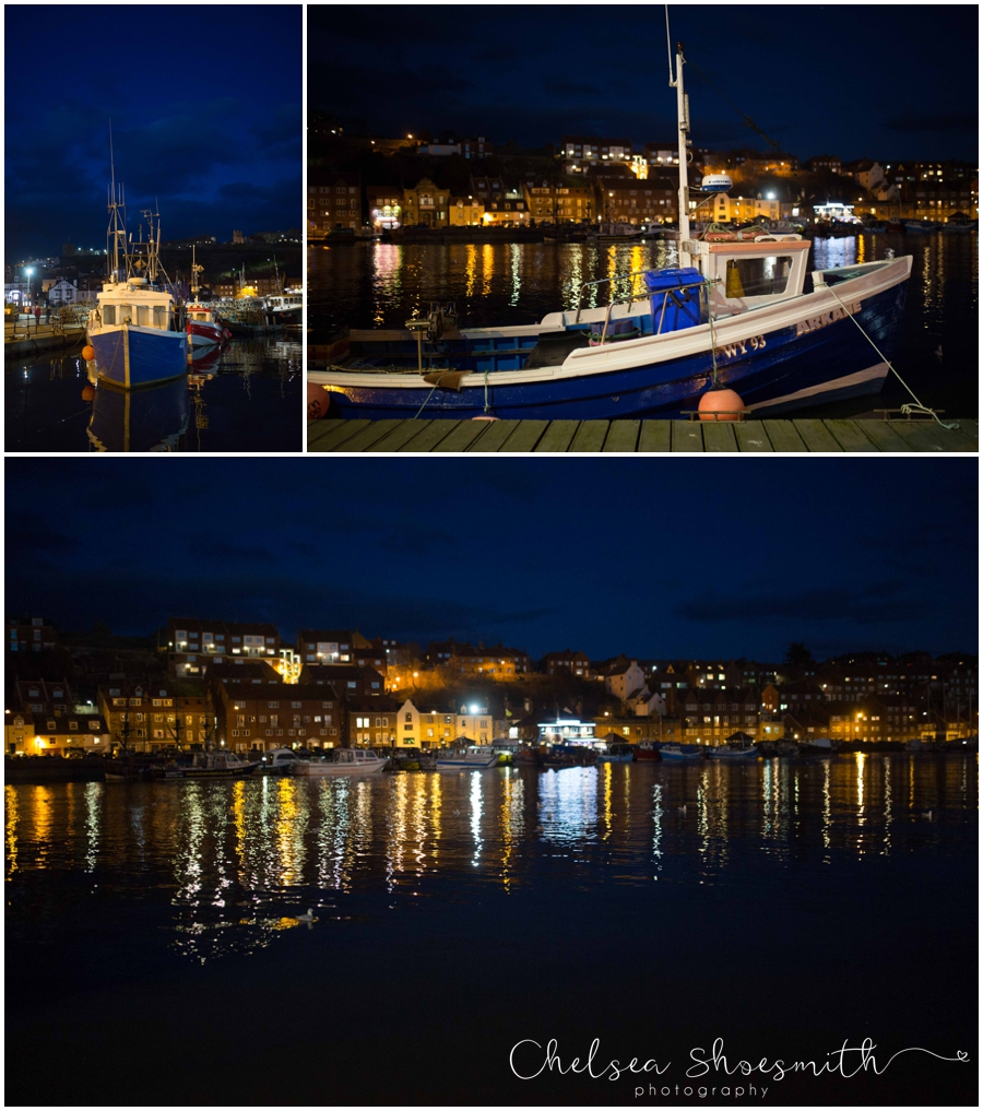 (4 of 28) Whitby By Night Starry Travel Photographer Yorkshire Chelsea Shoesmith Photography