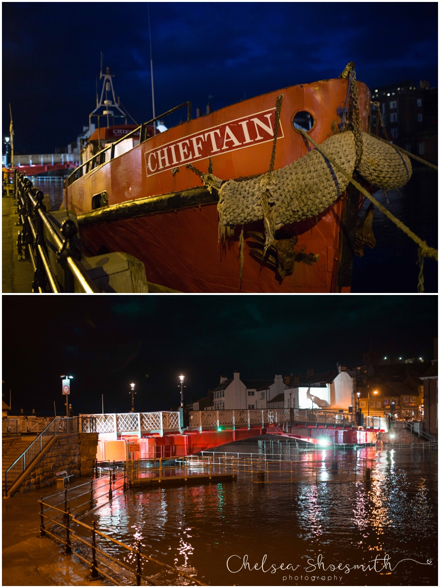 (7 of 28) Whitby By Night Starry Travel Photographer Yorkshire Chelsea Shoesmith Photography