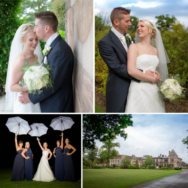 Fran & Rick Wedding Photography , Rookery Hall Cheshire
