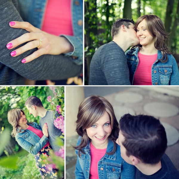 Joanna Rowsell & Daniel Shand Engagement Heaton Park Manchester