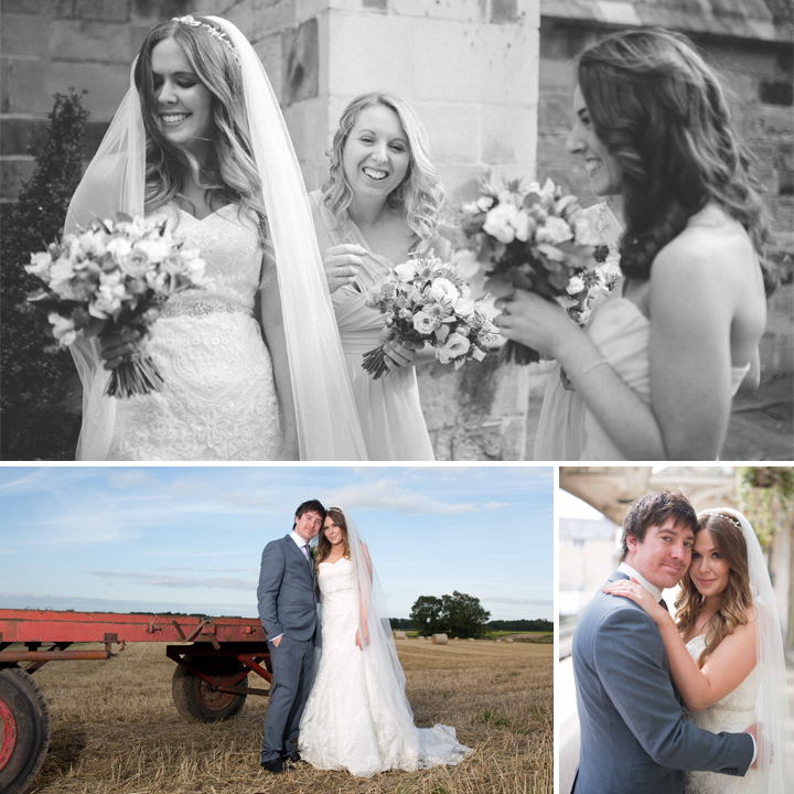 Holly & Matt Wedding photography, Castle Barn Farm Flaxby, Yorkshire
