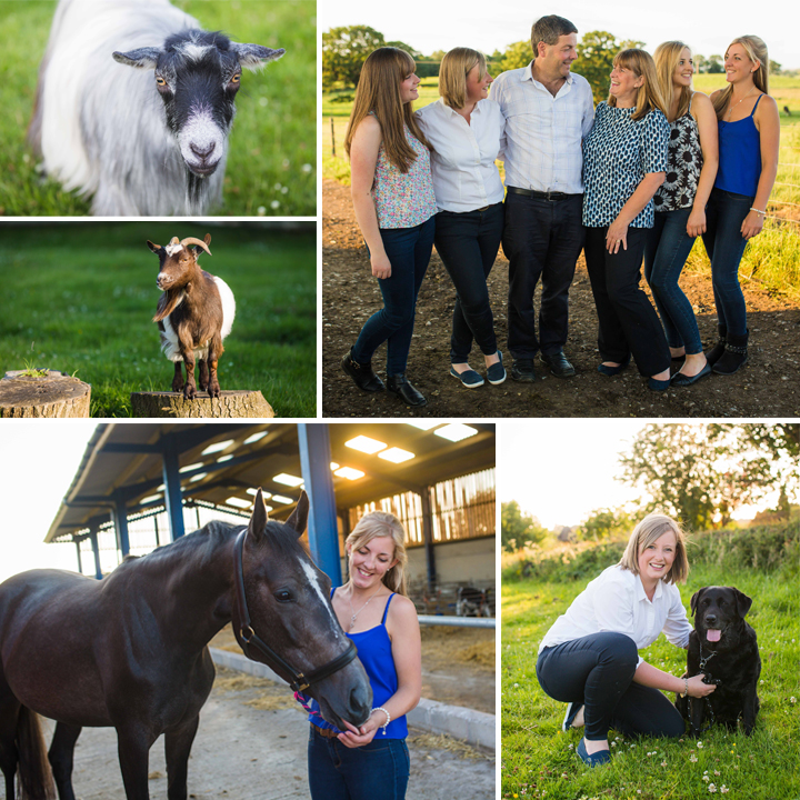 Eardleys Private Farm Family Portrait - Cheshire
