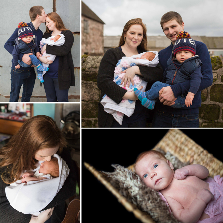 Lily Newborn Photo Shoot - Staffordshire