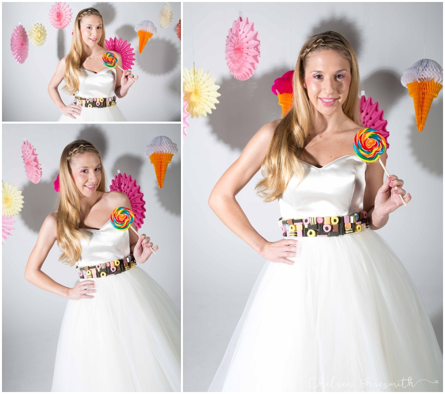 (10 of 104) Candy Sweetie Fashion Bridal Styled Shoot Pie Factory Manchester Chelsea Shoesmith Photography