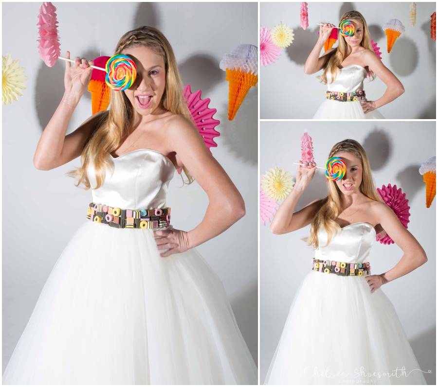 (15 of 104) Candy Sweetie Fashion Bridal Styled Shoot Pie Factory Manchester Chelsea Shoesmith Photography