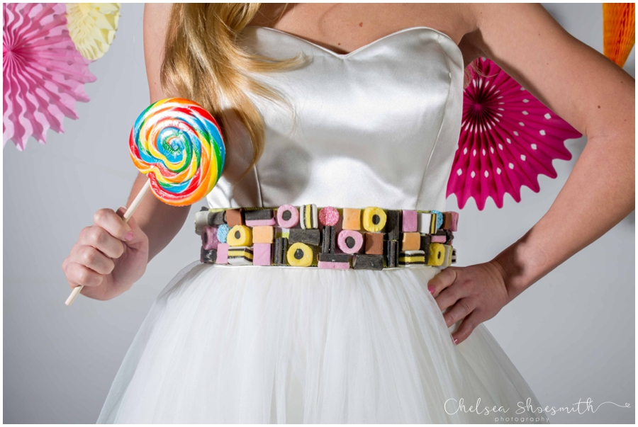 (19 of 104) Candy Sweetie Fashion Bridal Styled Shoot Pie Factory Manchester Chelsea Shoesmith Photography