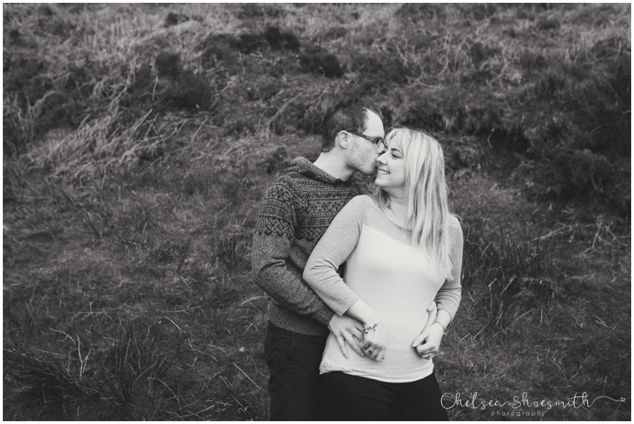 (4 of 46) Sam & Martin Spring Engagement Shoot, The Roaches, Staffordshire, Cheslea Shoesmith Photography