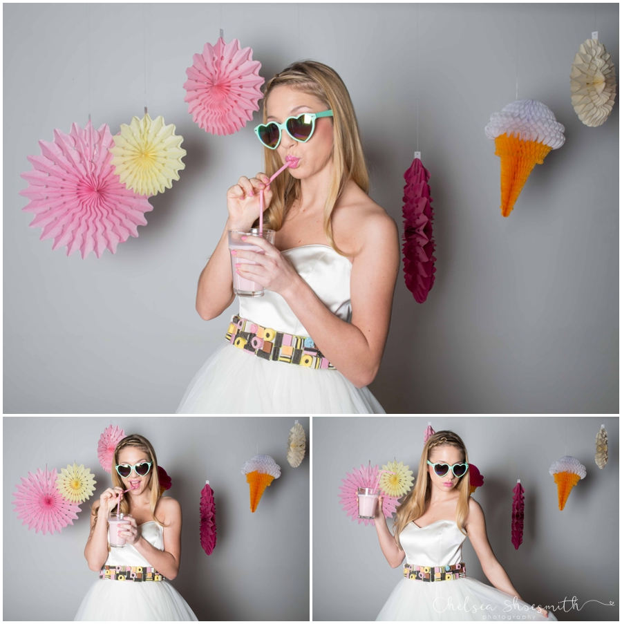 (40 of 104) Candy Sweetie Fashion Bridal Styled Shoot Pie Factory Manchester Chelsea Shoesmith Photography
