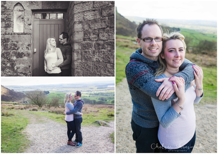 (40 of 46) Sam & Martin Spring Engagement Shoot, The Roaches, Staffordshire, Cheslea Shoesmith Photography