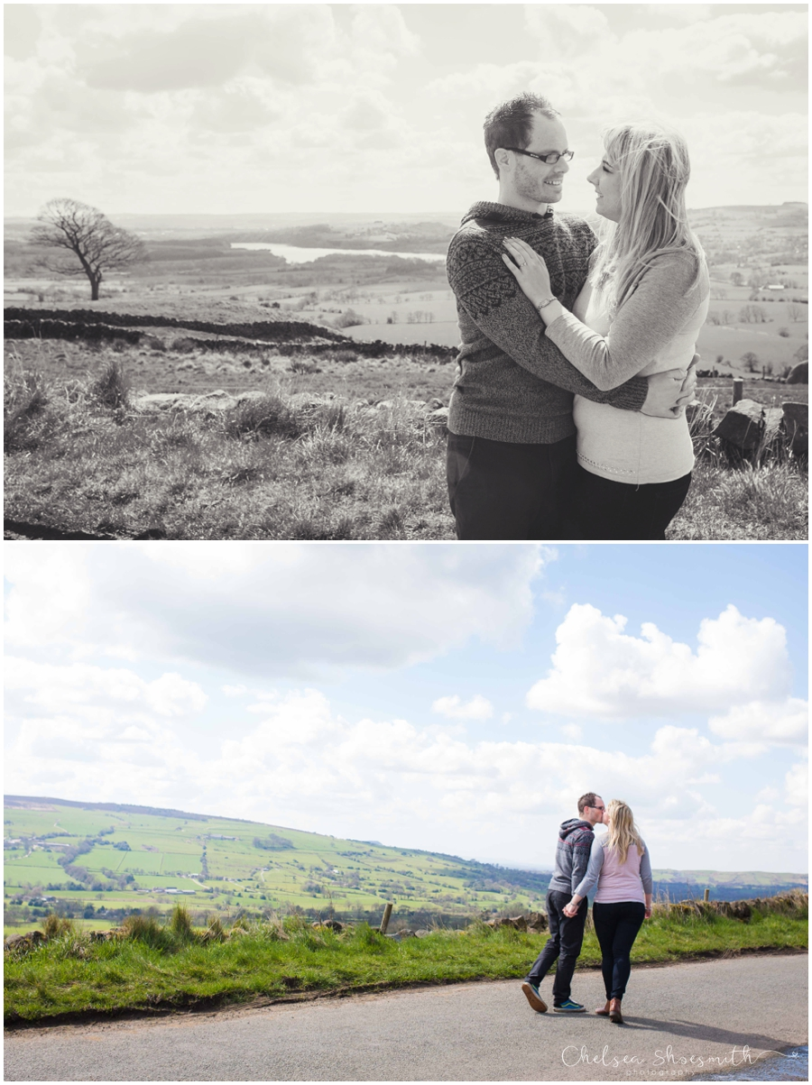 (44 of 46) Sam & Martin Spring Engagement Shoot, The Roaches, Staffordshire, Cheslea Shoesmith Photography