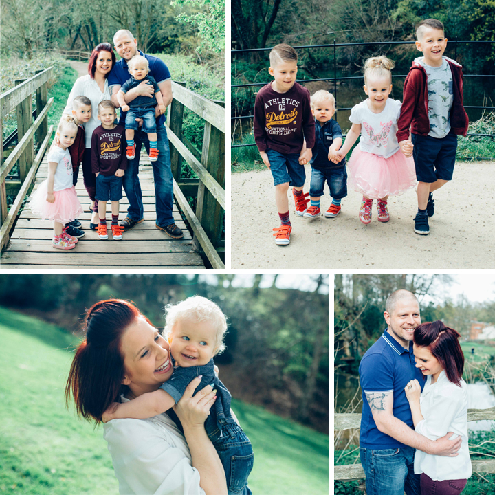 Rigby Family Portrait Photo Shoot - Quarry Bank Mill, Styal, Cheshire