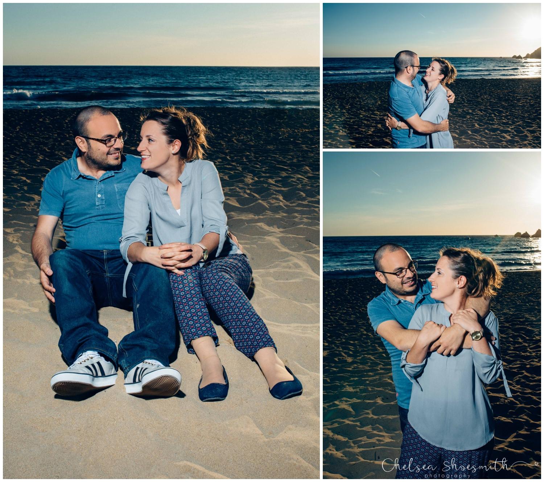 (11 of 54) Alison & Dom Couple Shoot Golden Bay Mellieha Malta Chelsea Shoesmith Destination Wedding Photography