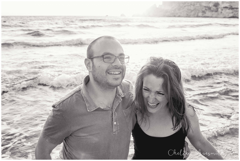 (22 of 54) Alison & Dom Couple Shoot Golden Bay Mellieha Malta Chelsea Shoesmith Destination Wedding Photography