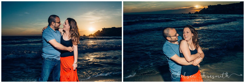 (23 of 54) Alison & Dom Couple Shoot Golden Bay Mellieha Malta Chelsea Shoesmith Destination Wedding Photography