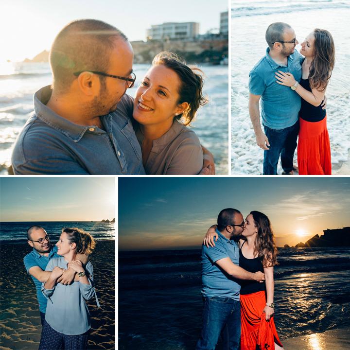 Destination Sunset Couple Shoot On Golden Bay Beach, Mellieha, Malta