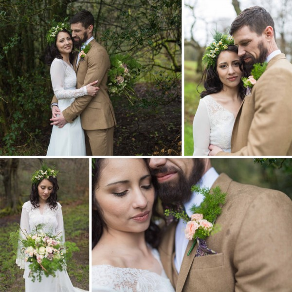 Bohemian Woodland Themed Wedding Shoot - Tegg's Nose Country Park, Cheshire