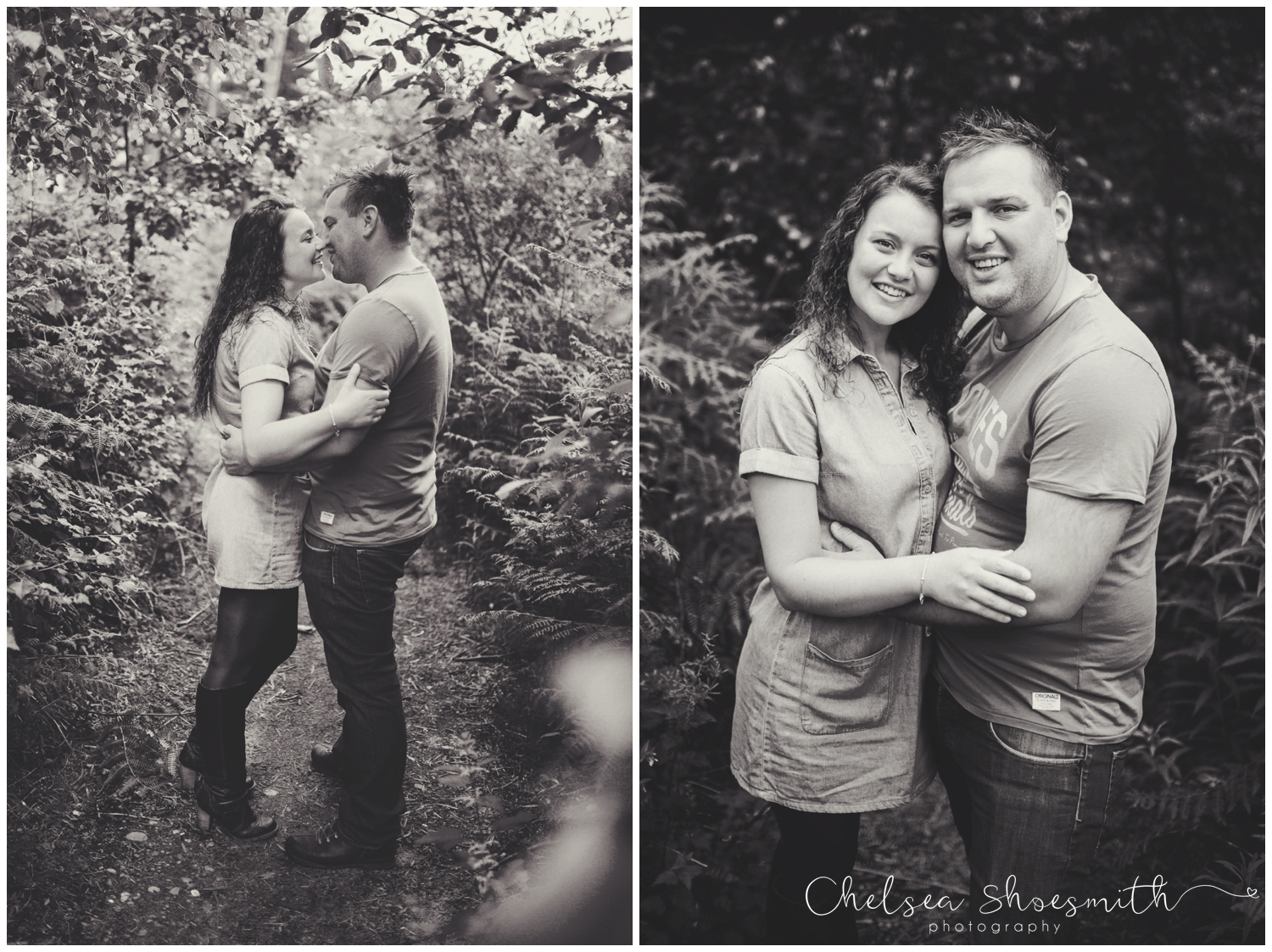 (38 of 75) Bethan & Peter Engagement Shoot Cheshire, Delamere Forest Chelsea Shoesmith Photography