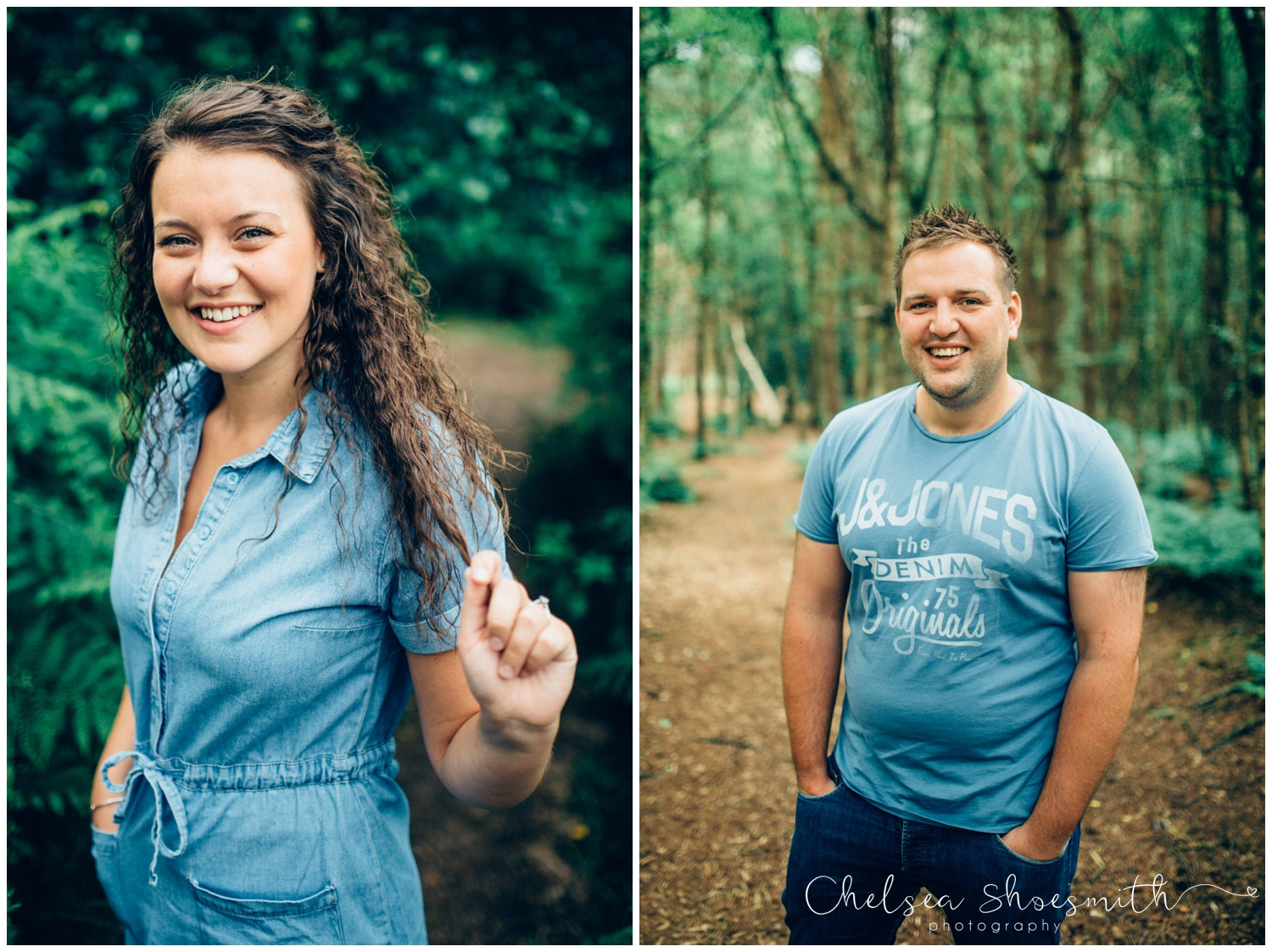 (40 of 75) Bethan & Peter Engagement Shoot Cheshire, Delamere Forest Chelsea Shoesmith Photography