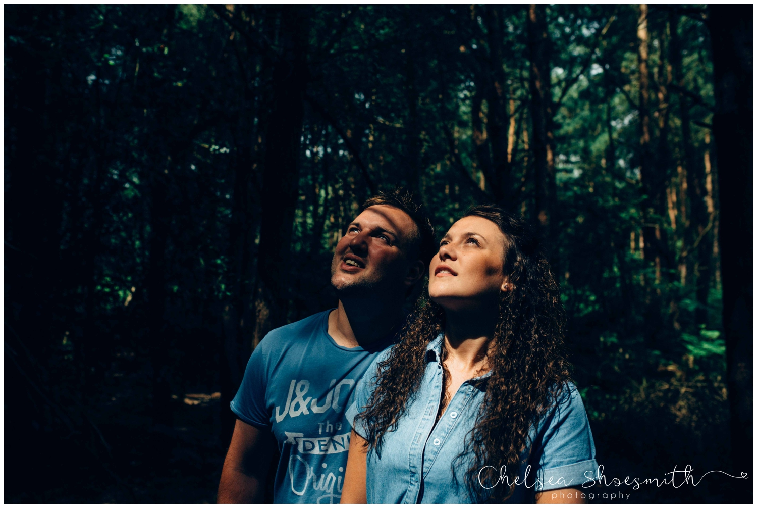 (56 of 75) Bethan & Peter Engagement Shoot Cheshire, Delamere Forest Chelsea Shoesmith Photography