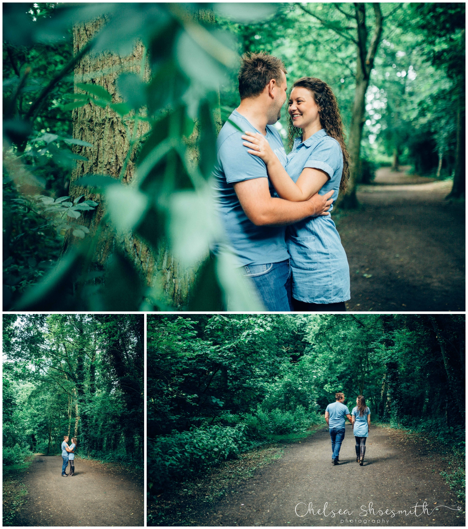 (6 of 75) Bethan & Peter Engagement Shoot Cheshire, Delamere Forest Chelsea Shoesmith Photography