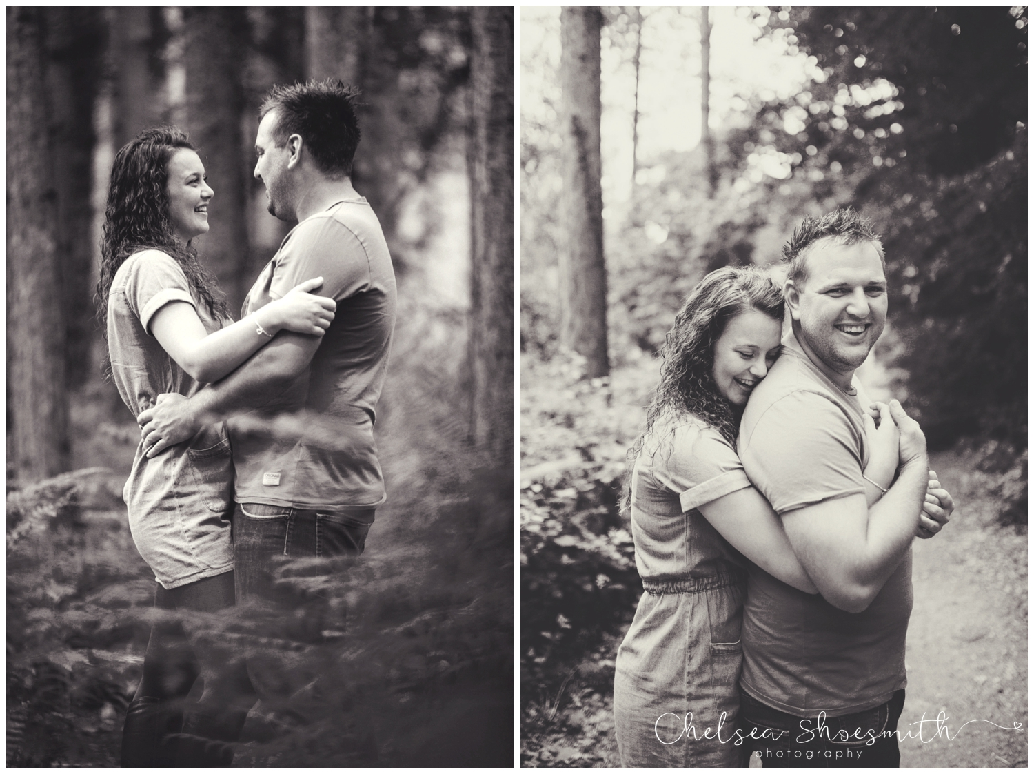 (68 of 75) Bethan & Peter Engagement Shoot Cheshire, Delamere Forest Chelsea Shoesmith Photography